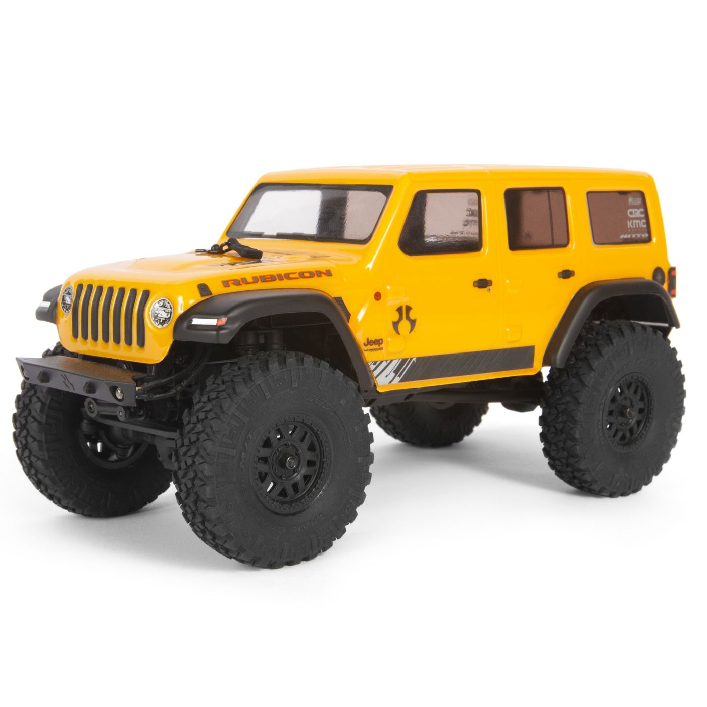 Axial Racing 1/24 SCX24 2019 Jeep Wrangler JLU CRC Rock Crawler 4WD RTR, Yellow